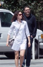 EMMY ROSSUM Out in Los Angeles 04/09/2018