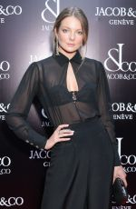 ENIKO MIHALIK at Jacob & Co. Flagship Store Re-opening in New York 04/26/2018