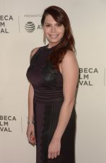 ERIKA OLDE at Woman Walks Ahead Premiere at Tribeca Film Festival 04/25/2018