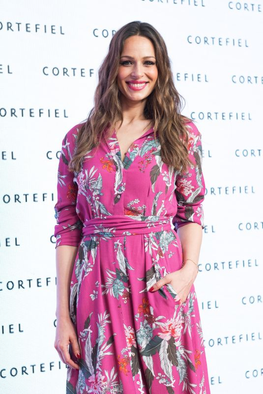 EVA GONZALEZ at Cortefiel Spring/Summer 2018 Presentation in Madrid 04/24/2018