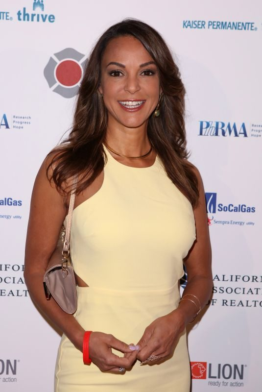 EVA LARUE at 5th Annual California Firefighters Gala in Los Angeles 03/28/2018
