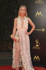 EVA PARIS CICINYTE at Daytime Emmy Awards 2018 in Los Angeles 04/29/2018
