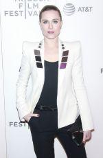 EVAN RACHEL WOOD at Westworld Premiere at Tribeca Film Festival in New York 04/19/2018