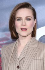 EVAN RACHEL WOOD at Westworld Season 2 Premiere in Los Angeles 04/16/2018
