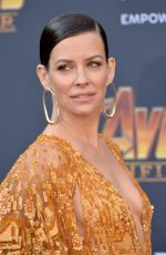 EVANGELINE LILLY at Avengers: Infinity War Premiere in Los Angeles 04/23/2018