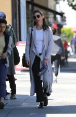 EVANGELINE LILLY Out and About in Hollywood 04/19/2018
