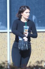 EVE HEWSON Out for Coffee in Los Angeles 04/06/2018