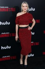 "EVER CARRADINE at The Handmaid""s Tale Season 2 Premiere in Hollywood 04/19/2018"