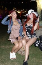 FARRAH ABRAHAM and PHOEBE PRICE at Coachella Valley Music and Arts Festival in Palm Springs 04/13/2018