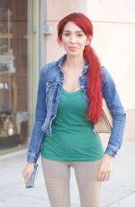 FARRAH ABRAHAM Out and About in Beverly Hills 04/04/2018