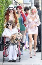 FARRAH ABRAHAM Out for Lunch at E Baldi in Los Angeles 04/04/2018