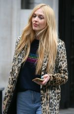 FEARNE COTTON Leaves BBC Radio 2 in London 04/13/2018