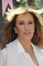 FELICITY HUFFMAN at Eva Longoria Hollywood Walk of Fame Ceremony in Los Angeles 04/16/2018