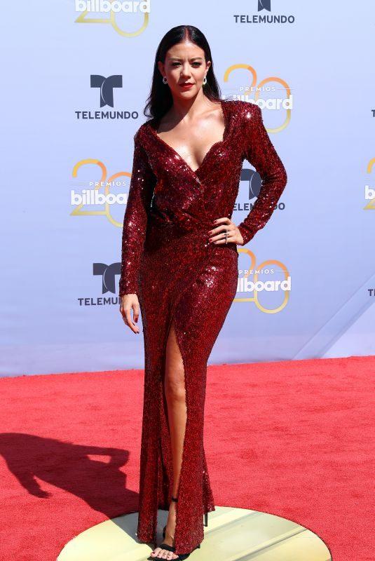 FERNANADA CASTILLO at Billboard Latin Music Awards in Las Vegas 04/26/2018