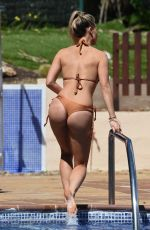 FERNE MCCANN in Bikini on Vacation in Marbella 04/12/2018