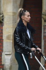 FERNE MCCANN Out and About in Essex 04/02/2018