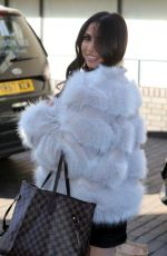 FRANCINE LEWIS Leaves ITV Studios in London 04/05/2018