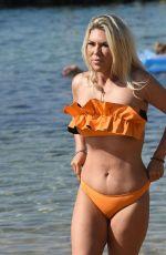 FRANKIE ESSEX in Bikini at a Beach in Turkey 04/22/2018