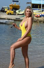 FRANKIE ESSEX in Swimsuit at a Beach in Turkey 04/26/2018
