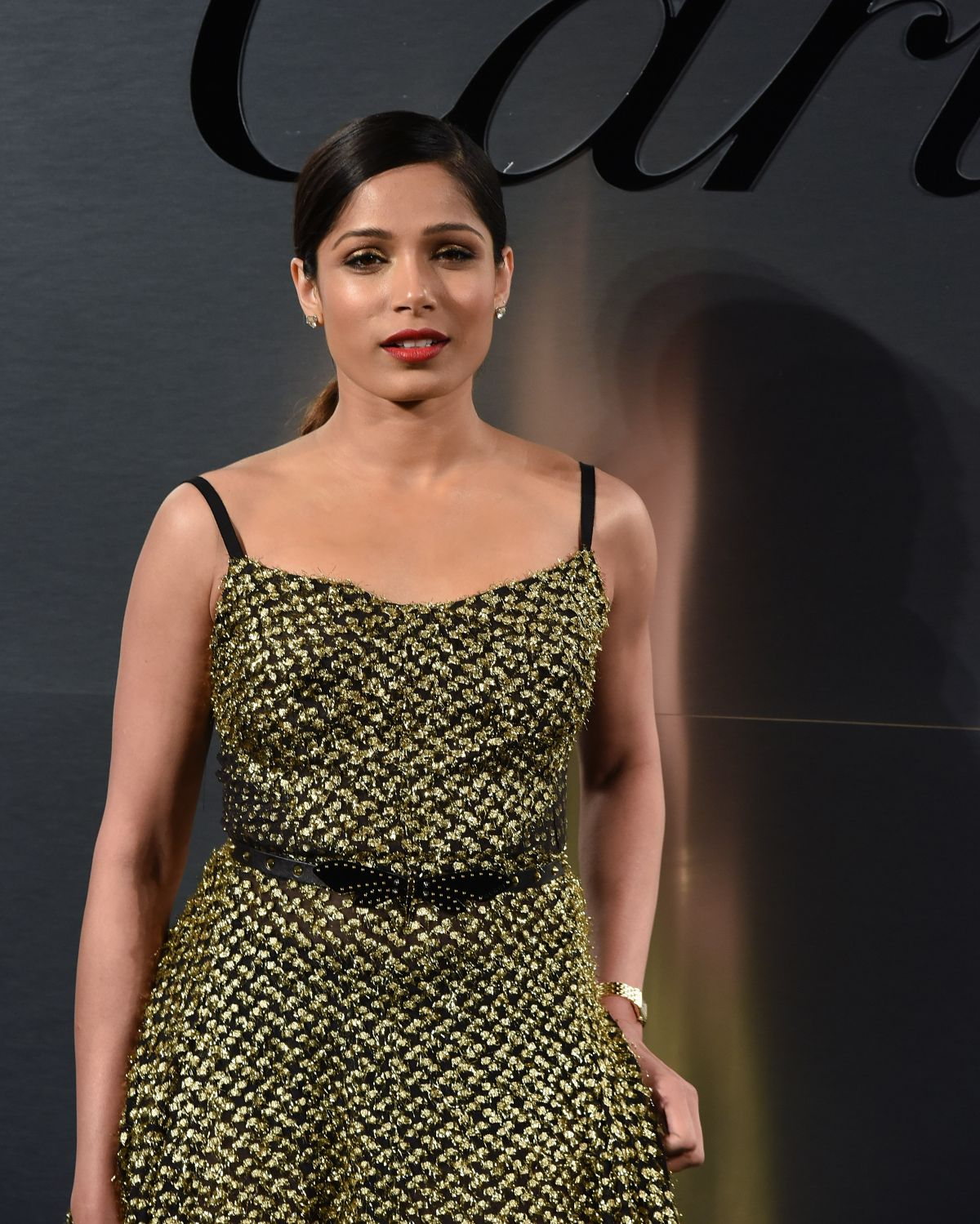 FREIDA PINTO at Cartier's Bold and Fearless Celebration in ...