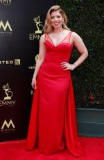 GABY NATALE at Daytime Emmy Awards 2018 in Los Angeles 04/29/2018
