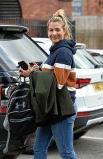 GEMMA ATINSON Leaves Key 103 Radio in Manchester 04/26/2018
