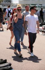 GEMMA ATKINSON and Gorka Marquez Out in Barcelona 04/18/2018