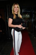 GEMMA ATKINSON Out and About in Manchester 04/25/2018