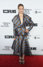 GENEVIEVE ANGELSON at Love, Gilda Premiere at Tribeca Film Festival in New York 04/18/2018