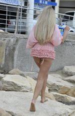 GEORGIA COLE in Bikini on the Beach in Spain 04/17/2018