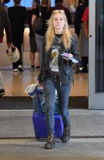 GEORGIA MAY JAGGER at LAX Airport in Los Angeles 04/23/2018