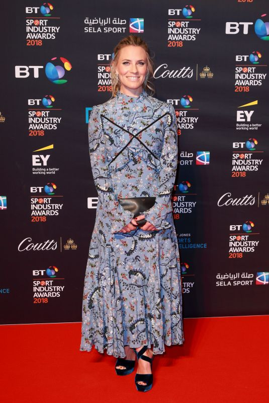 GEORGIE AINSLIE at BT Sport Industry Awards in London 04/26/2018