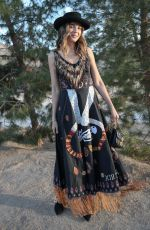 GEORGIE FLORES at Dior Sauvage Party in Pioneertown 04/12/2018