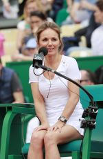 GERI HALLIWELL at Rolex Masters Tournament in Monte Carlo 04/14/2018