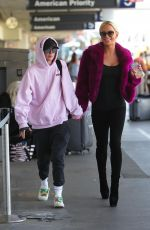 GIGI GORGEOUS at LAX Airport in Los Angeles 04/11/2018