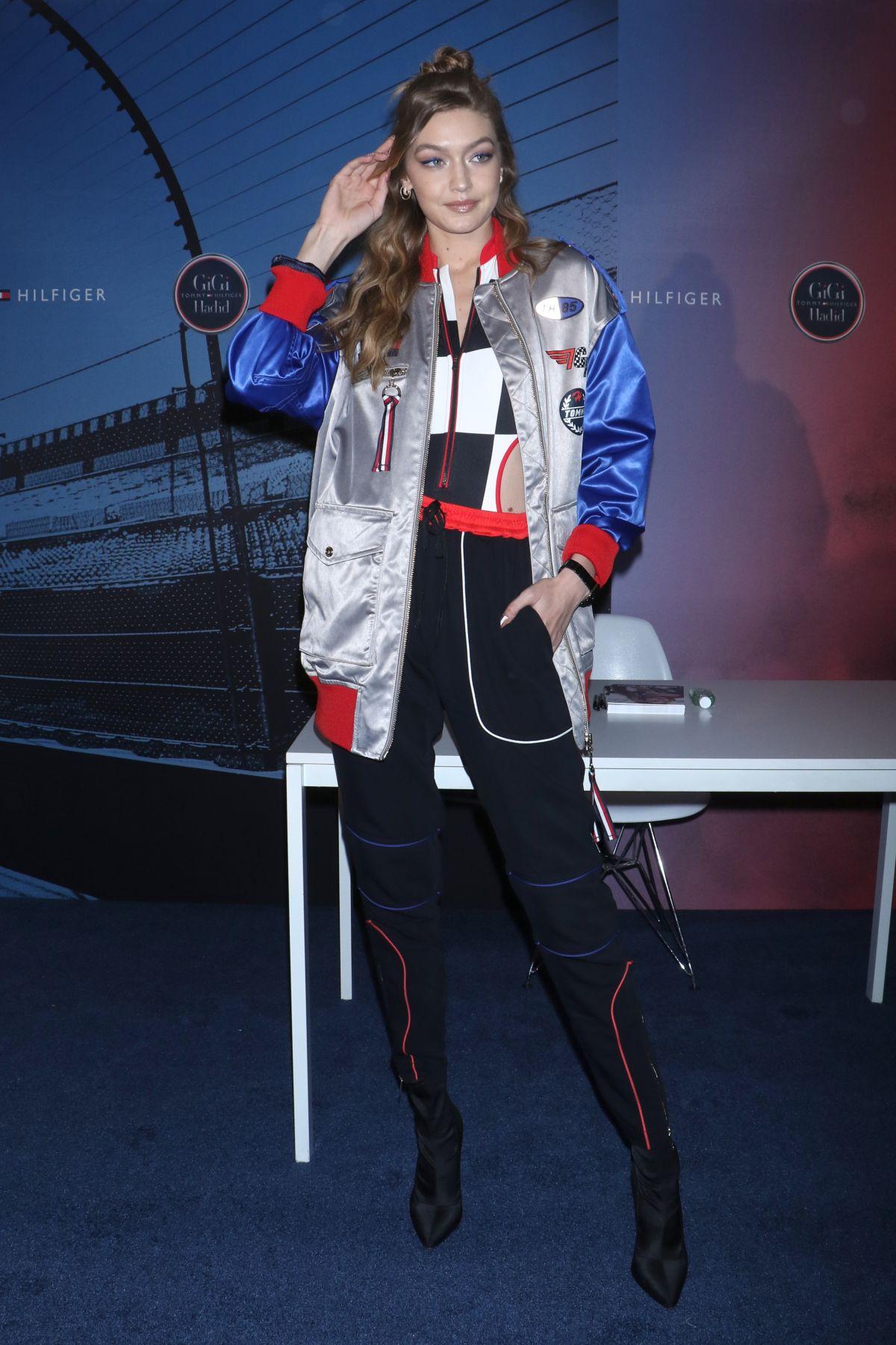 1fbdeb749995 GIGI HADID at Gigi Hadid x Tommy Hilfiger Watch Collection Launch in New  York 04
