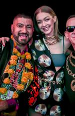 GIGI HADID at Moschino Party at Coachella Valley Music & Arts Festival 04/14/2018