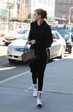 GIGI HADID Out and About in New York 04/22/2018