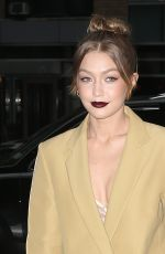 GIGI HADID Out in New York 04/25/2018