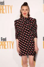 GILLIAN JACOBS at I Feel Pretty Premiere in Los Angeles 04/17/2018