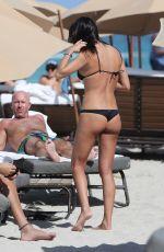 GIORGIA GABRIELE in Bikini at a Beach in Miami 03/31/2018