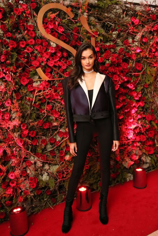 GIZELE OLIVEIRA at Giorgio Armani Si Passione Fragrance & Vogue Launch in New York 04/05/2018