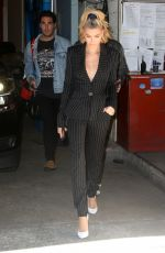 HAILEY BALDWIN Leaves Live with Kelly and Ryan Show 04/26/2018