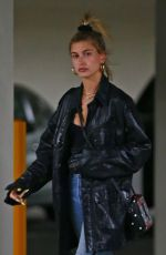 HAILEY BALDWIN Leaves Montage Hotel in Beverly Hills 04/18/2018