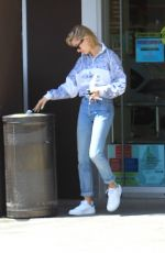 HAILEY BALDWIN Leaves Rite-aid in Beverly Hills 04/18/2018