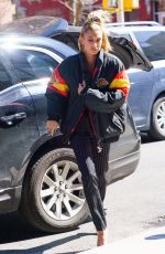 HAILEY BALDWIN Out and About in New York 04/26/2018