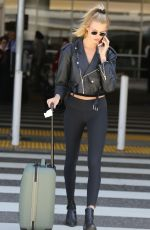 HAILEY CLAUSON at Los Angeles International Airport 04/19/2018