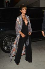 HALLE BERRY at Avra Restaurant Opening in Beverly Hills 04/26/2018