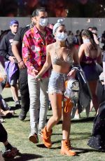 HALSEY in Bikini Top at 2018 Coachella Valley Music and Arts Festival 04/15/2018