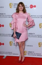 HANNAH BRITLAND at British Academy Television and Craft Awards Nominees Party in London 04/19/2018